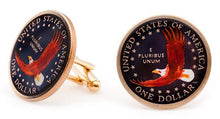 US Dollar Tail Coin Cufflinks