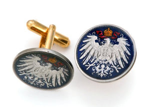 Germany Eagle Coin Cufflinks