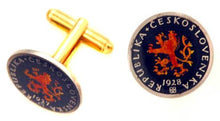Czech Republic Coin Cufflinks