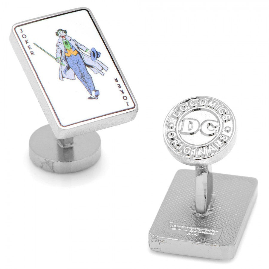 Joker Card Cufflinks