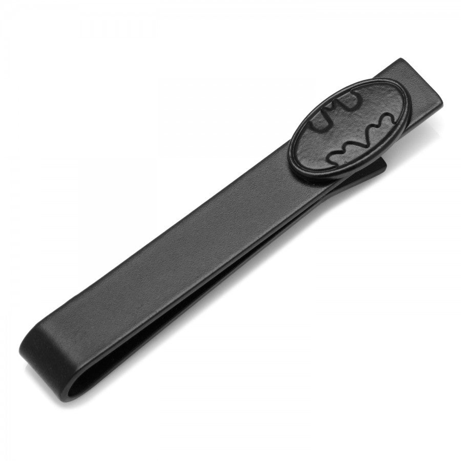 Black Oval Batman Tie Bar