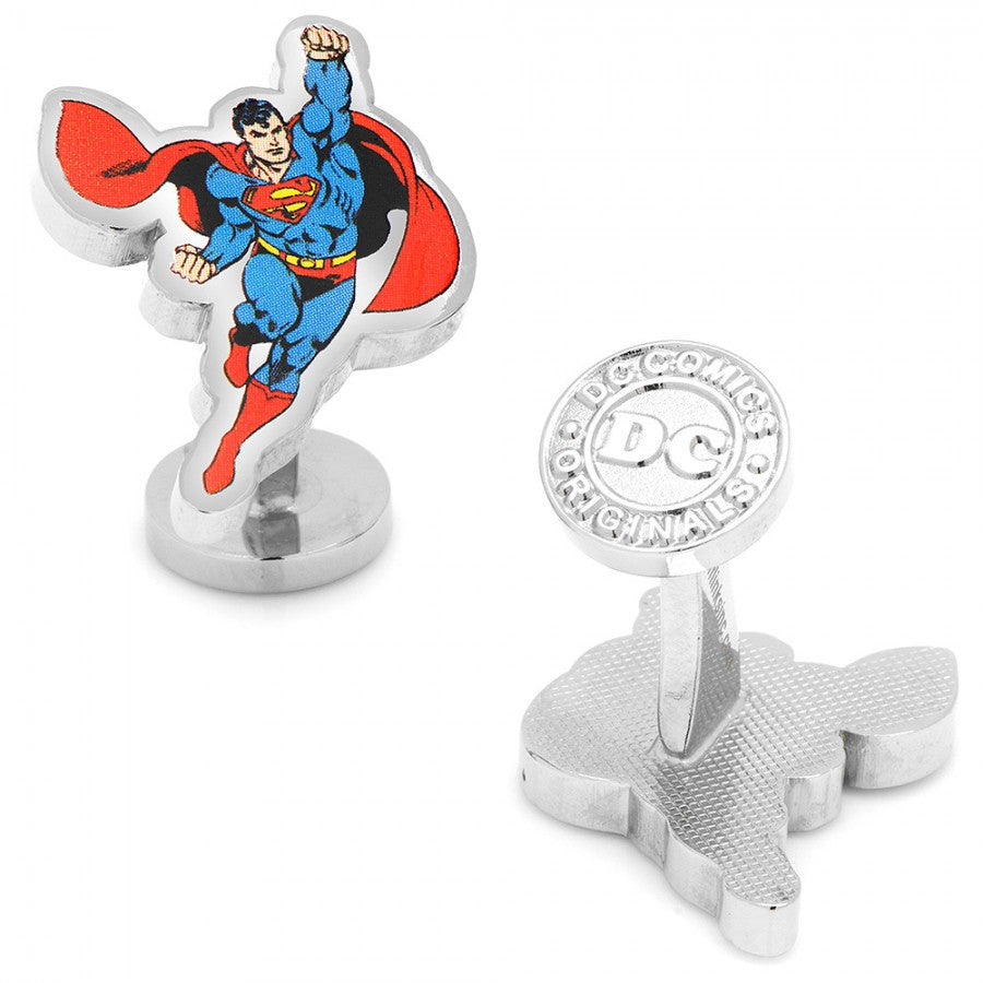 Flying Superman Cufflinks
