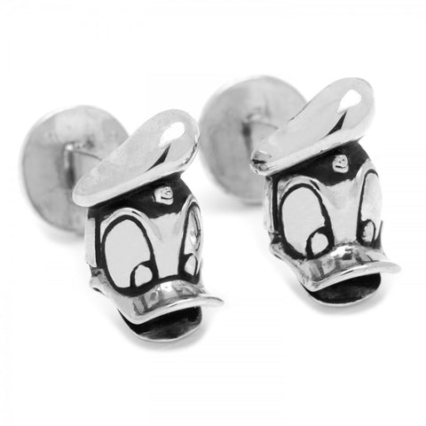 3D Donald Duck Cufflinks