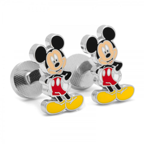 Enamel Mickey Cufflinks