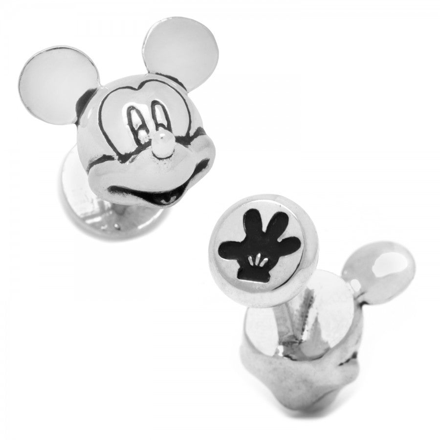 3D Mickey Mouse Cufflinks