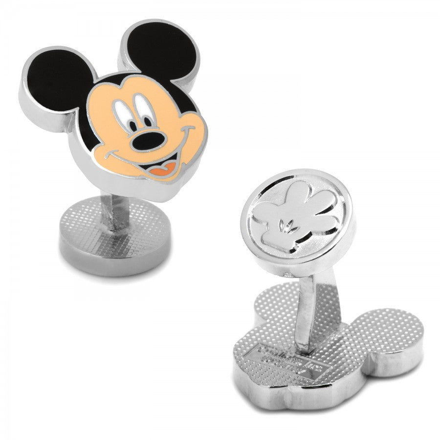 Enamel Mickey Head Cufflinks