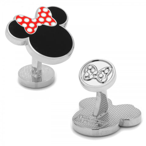 Enamel Mickey Head Tie Bar