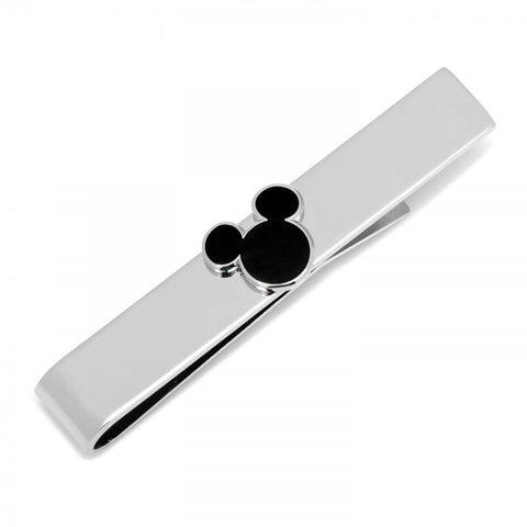 Black Mickey Silhouette Tie Bar