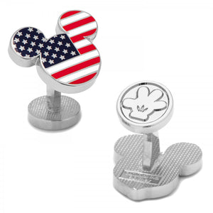 American Flag Mickey Cufflinks