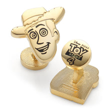 Woody and Buzz Gold Pair Cufflinks