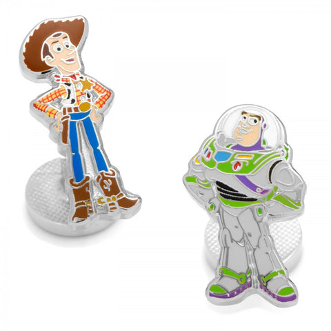 Woody and Buzz Lightyear Cufflinks