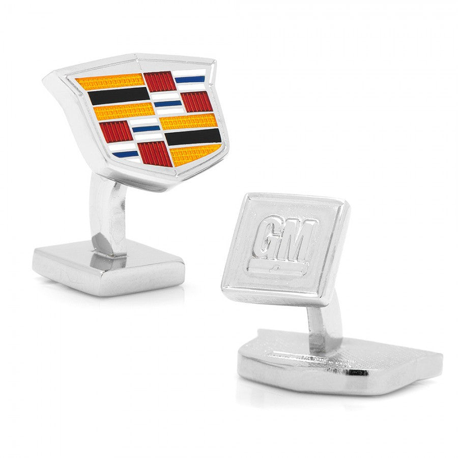 Cadillac Shield Logo Cufflinks