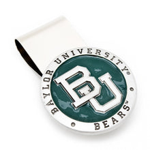 Pewter Baylor Bears Money Clip