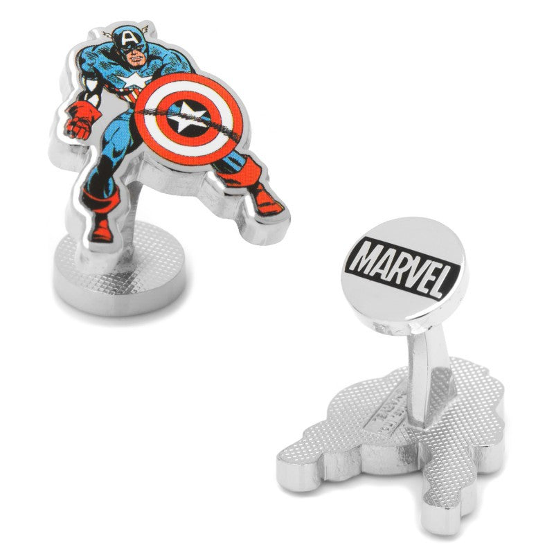 Captain America Action Cufflinks