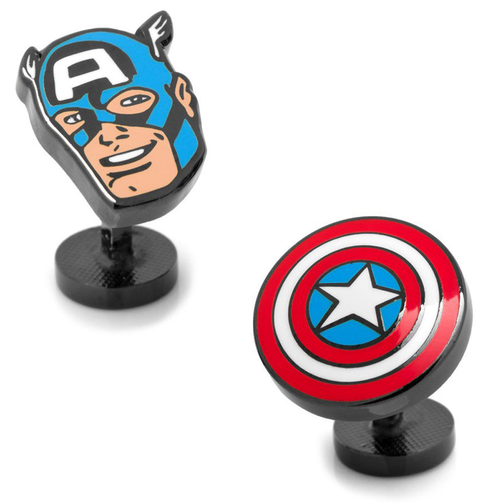 Captain America Comics Pair Cufflinks