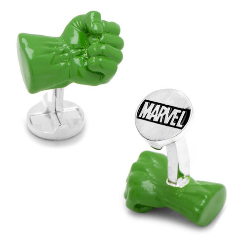 Transparent Enamel Superman Cape Cufflinks