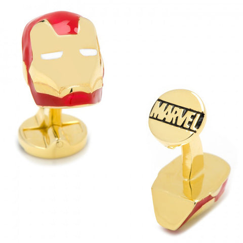 Enamel Superman Shield Tuxedo Stud Set