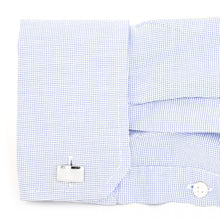 Grated Square Cufflinks
