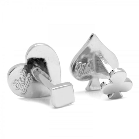 Card Suit Cufflinks