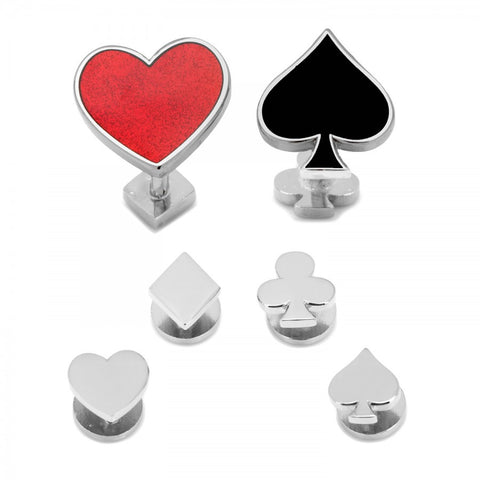 Card Suit Stud Set