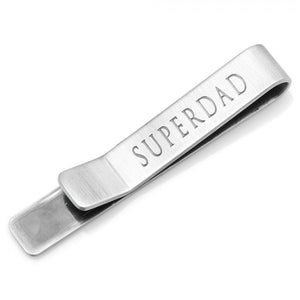 SUPERDAD Hidden Message Tie Bar