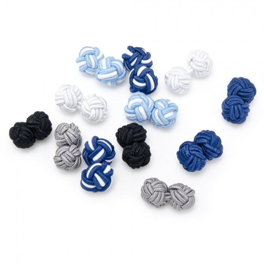 High Seas Silk Knot Cufflinks