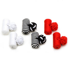 Love Bug Silk Barrel Knot Cufflinks
