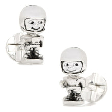 Football Bobblehead Cufflinks