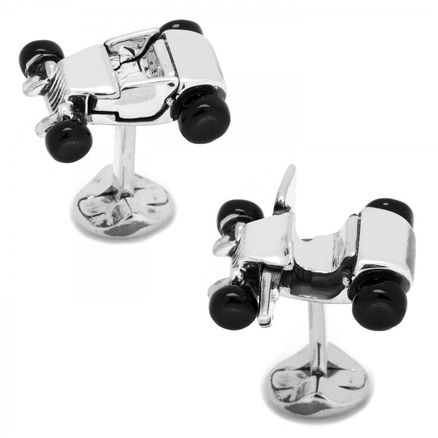 Hot Rod Car Cufflinks