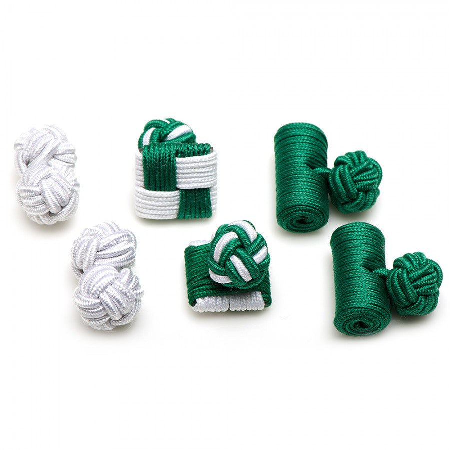 Spartans Silk Knot Combo Cufflinks