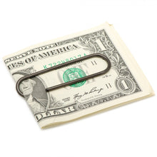 Black Stainless Steel Paper Clip Money Clip