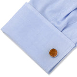 Stainless Steel Wood Cufflinks