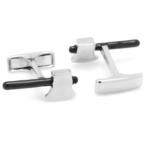 Sterling Axe Cufflinks