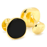 Vermeil Classic Formal Onyx Cufflinks