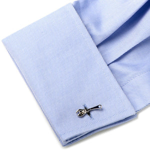 Sterling Wrench Cufflinks