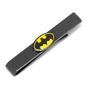 Black Transparent Enamel Batman Tie Bar