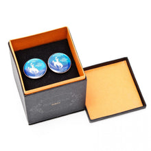 Hand Painted Wyoming State Quarter Cufflinks