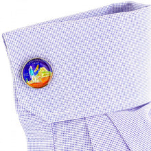 Hand Painted California State Quarter Cufflinks