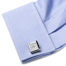 Stainless Steel Square Watch Cufflinks