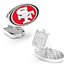 San Francisco 49ers Palladium Cufflinks