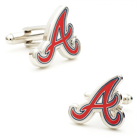 Atlanta Braves Cufflinks and Money Clip Gift Set