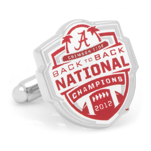 2012 University of Alabama National Champions Cufflinks