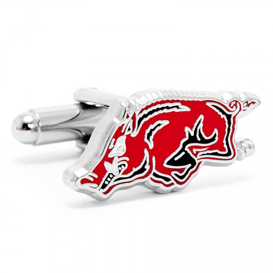 Arkansas Razorback Cufflinks