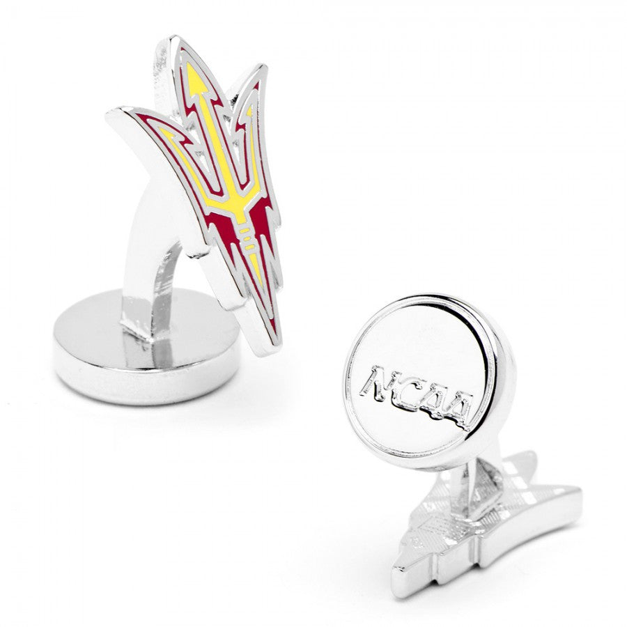 Arizona State Sun Devils Palladium Cufflinks