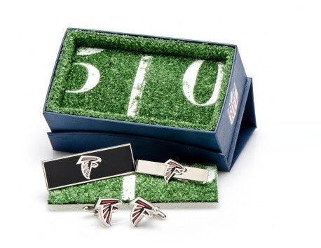 New Orleans Saints Cufflinks and Money Clip Gift Set