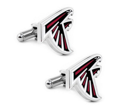 Atlanta Falcons Cufflinks and Tie Bar Gift Set