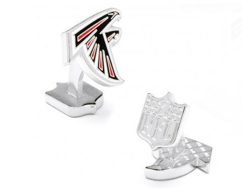 Atlanta Falcons Palladium Cufflinks