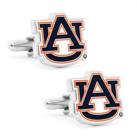 Auburn University Tigers Cufflinks and Money Clip Gift Set