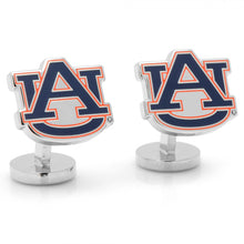 Auburn Tigers Palladium Cufflinks