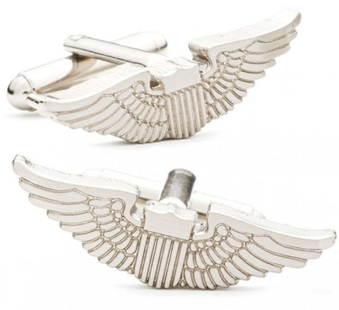 Auto Tail Fin Stamp Cufflinks